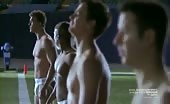 Football fag Alan Ritchson in Blue Mountain State