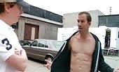 Twunk Bryan Callen Topless in The 41 Year Old Virgin