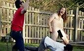 Skater gay Chris Pontius naked in Jackass