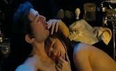 Bum banditt Eric Elmosnino Gainsbourg gets naked