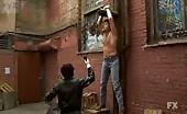 Glenn Howerton Looking a bit queer as he gets tortured