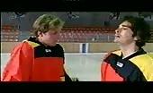 Gay Ice Hockey Scene starring Manou Lubowski