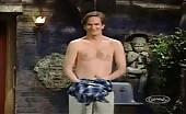 Fruitcake Mark McKinney strips off naked