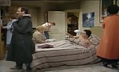 Twink Scott Baio in bed in Charles in Charge