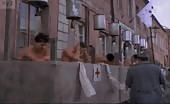 Shit stabber Sean Patrick Flanery  showering in Young Indiana Jones