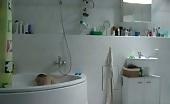 Gay star Thorsten Merten naked in the bathroom