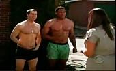 Hunk Murray Bartlett in trunks