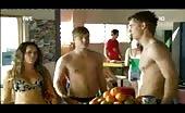 Aussie hunk David Jones Roberts Shirtless and surfing
