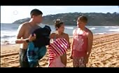 Fruitcake Aussie Lincoln Younes Shirtless At Beach