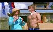 Aussie bummers Luke Mitchell and David Jones Roberts Shirtless