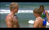 David Jones Roberts Shirtless Assie beach bum dude