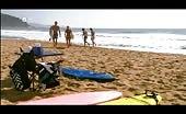 Luke Mitchell Shirtless Hunk  At Beach