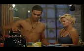 Poofter Lucien Laviscount Shirtless In Celeb Big Bro