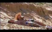 Aussie hunk David Jones Roberts sunbathing