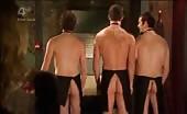 Ass Bandits David Atkins & James Farrar Make Great Butt Naked Waiters