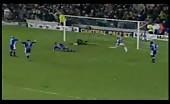 Soccer faggot Joe Cole Celebrates a goal
