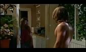 Mark Furze Shirtless Workout at home