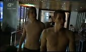Cock Jockey Miles Higson wearing boxer shorts