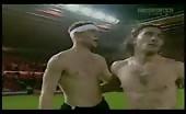 Sexy soccer hunk James Milner topless