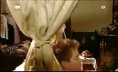 Super Stud Sam Clark Eats His Honeymoon Breakfast in his Boxers